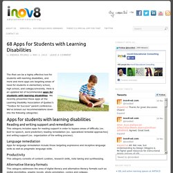 68 Apps for Students with Learning Disabilities