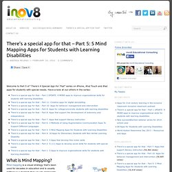 Part 5: 5 Mind Mapping Apps for Students with Learning Disabilities