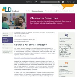 Information, Tools and Resources for Teachers
