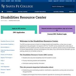 Disabilities Resource Center