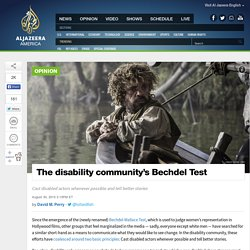 The Disability Community's Bechdel Test