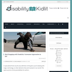 (Not) Engaging with Disability: Convenient Approaches in SFF