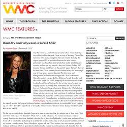 Disability and Hollywood, a Sordid Affair
