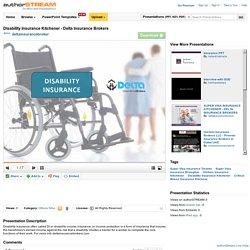 Disability Insurance Kitchener - Delta Insurance Brokers