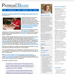 Disability News | PatriciaEBauer.com