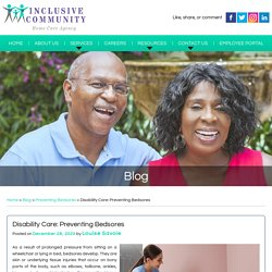 Disability Care: Preventing Bedsores