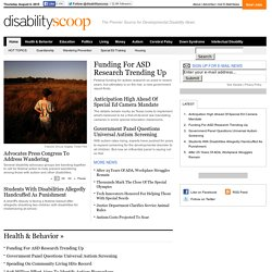 Disability Scoop - Developmental Disability News