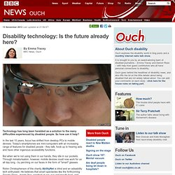 Disability technology: Is the future already here?