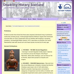 Disability Timeline - Disability History Scotland