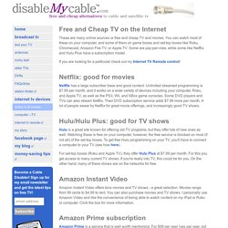DisableMyCable - Media Services