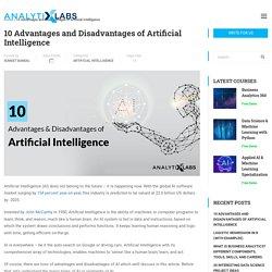 Top 10 Advantages & Disadvantages of Artificial Intelligence?