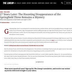 The Haunting Disappearance of the Springfield Three Remains a Mystery