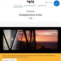 'Disappearance at Sea', Tacita Dean, 1996