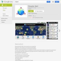 Disaster Alert