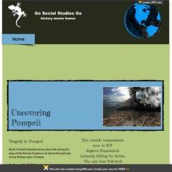 Pompeii: Go Social Studies Go!