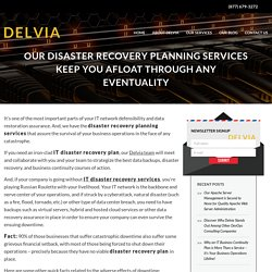 IT Disaster Recovery Services