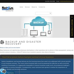 Best Backup and Disaster Recovery Services