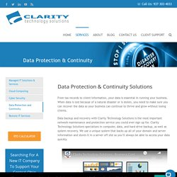 Data Backup and Disaster Recovery Solutions in Dublin Marion Ohio