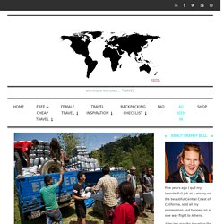 Disaster Relief Tourism : How To Help - It's One World...Travel