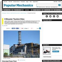 8 catastrophe Sites touristiques