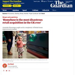 'Homebase is the most disastrous retail acquisition in the UK ever'