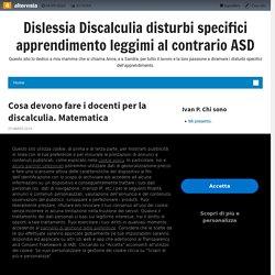 Dislessia Discalculia disturbi specifici apprendimento leggimi al contrario ASD
