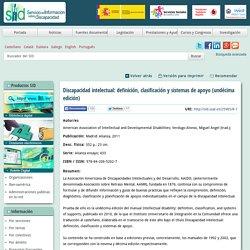 Discapacidad intelectual: definición, clasificación y