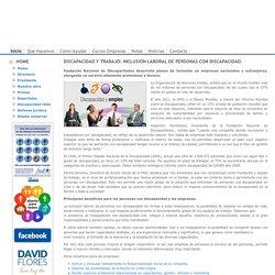 Discapacidad y Trabajo: Inclusión laboral de personas con discapacidad