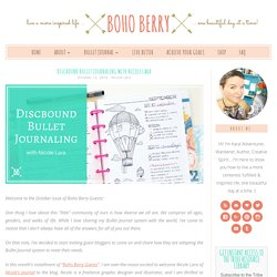 Discbound Bullet Journaling with Nicole Lara