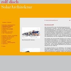 Rolf Disch - Realisierte Projekte