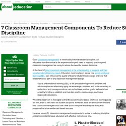 Top Tips for Successful Classroom Discipline and Management