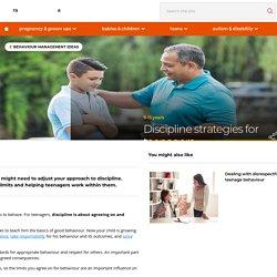 Discipline strategies for teenagers