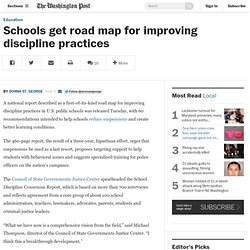 Schools get road map for improving discipline practices