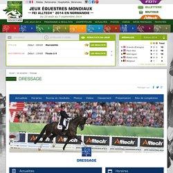 Les disciplines - Jeux équestres mondiaux - Normandie 2014