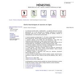 Thèmes et disciplines > Monde animal > Outils heuristiques et sources en ligne