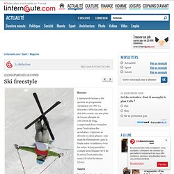 Disciplines des JO d'hiver : Ski acrobatique - Linternaute.com Sport