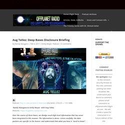 Aug Tellez: Deep Bases Disclosure Briefing