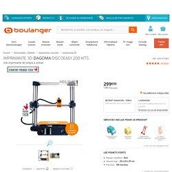 Dagoma DiscoEasy 200 kits - Imprimante 3D - Boulanger