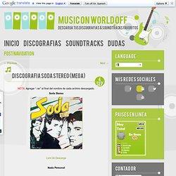 Discografia Soda Stereo (MEGA)