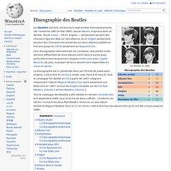Discographie des Beatles