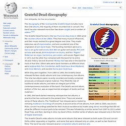 Grateful Dead discography