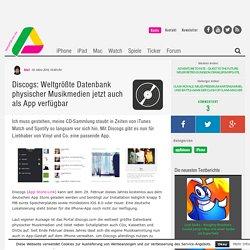 Discogs: Musik-Datenbank jetzt auch auf dem iPhone nutzbar