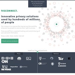Online Privacy | Proxy | Disconnect