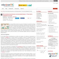 De los textos discontinuos y la diversidad textual... El uso de la infografía en el aula