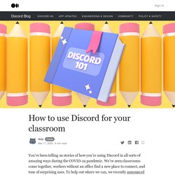How to use Discord for your classroom