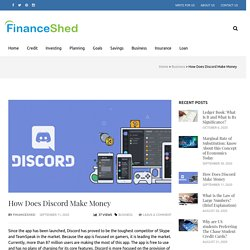 How Does Discord Make Money & Business Model