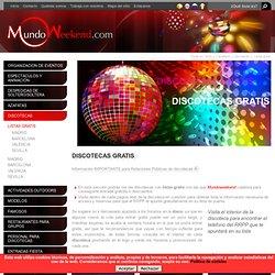 Discotecas GRATIS - Lista gratis Madrid