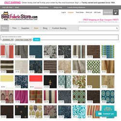 Get Offers On Fabrics At Online Store - BestFabricStore.com