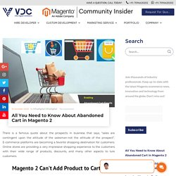Email Discount Offer to Customer for Abandoned Cart in Magento 2