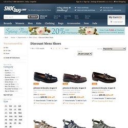 Discount Mens Shoes